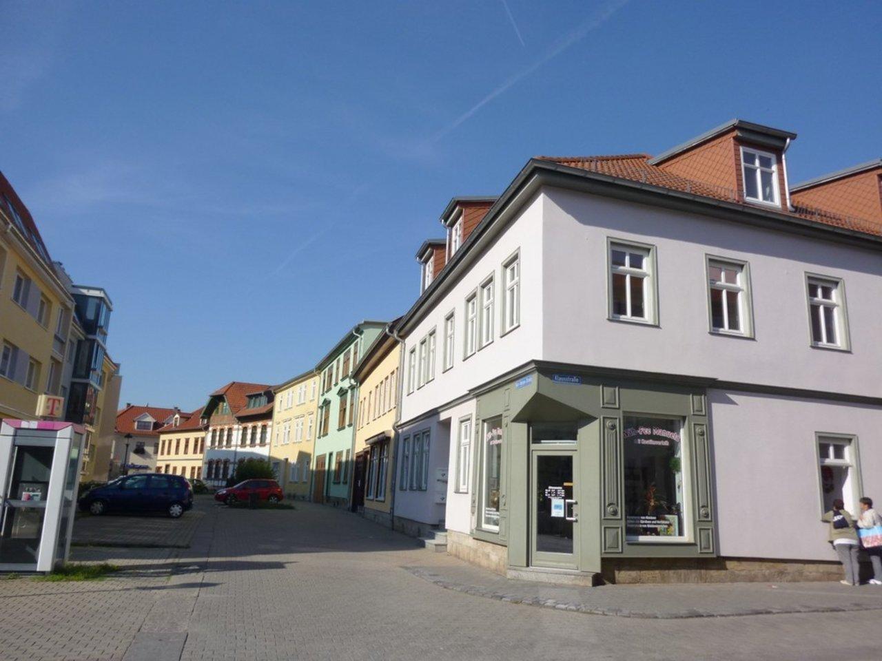 Helle und freundliche Maisonettewohnung mit kleinem Freisitz im Stadtzentrum-Hausansicht