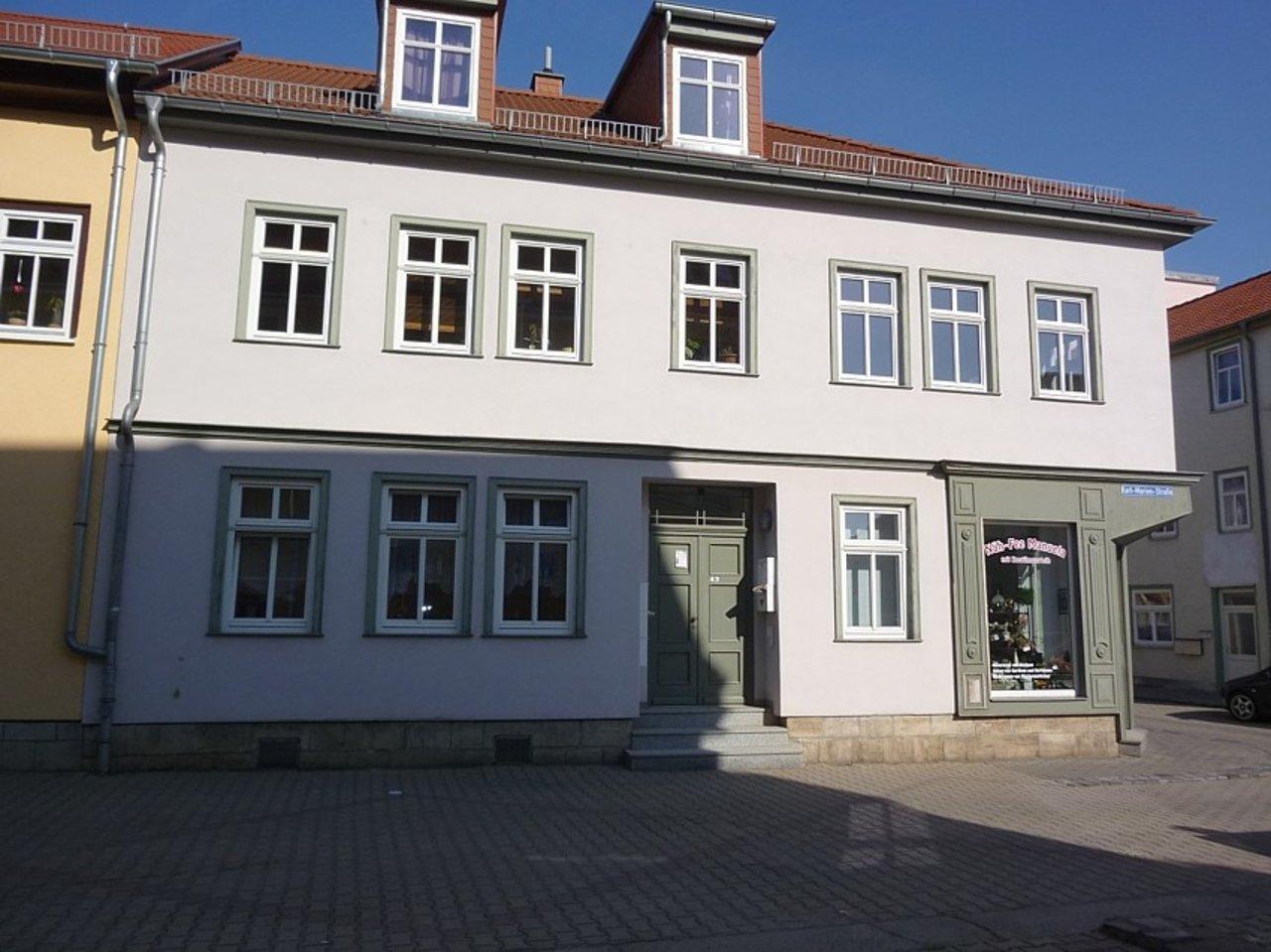 Helle und freundliche Maisonettewohnung mit kleinem Freisitz im Stadtzentrum-Eingang