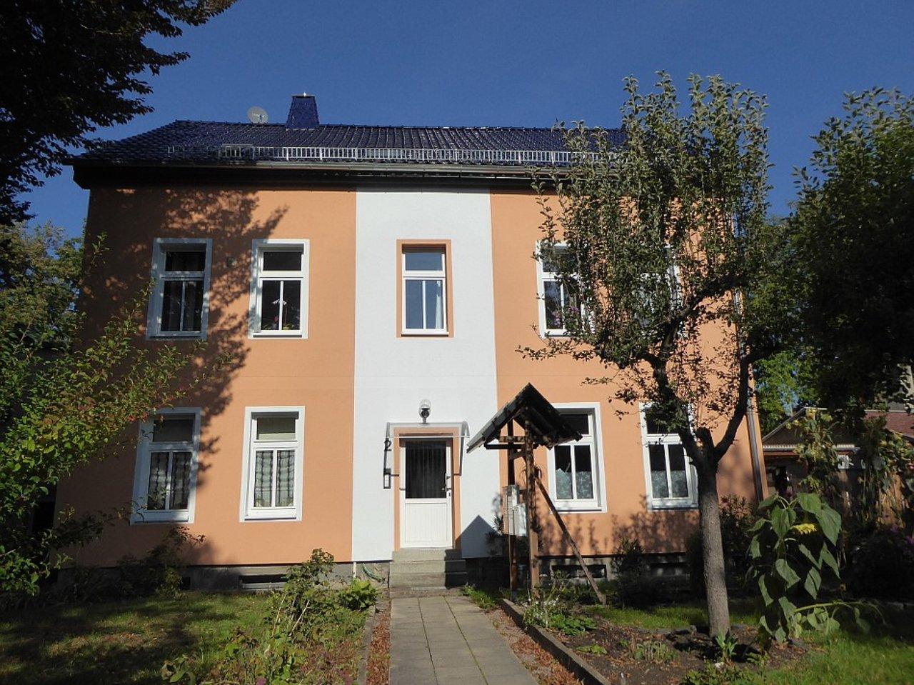 Individuelle 3-Zimmer-DG-Wohnung mit ausgebautem Dachspitz in Arnstadt-Hausansicht