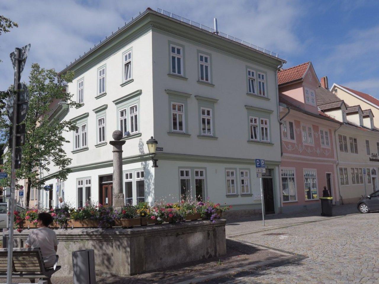 Interessantes Ladenlokal bzw. Büro im Zentrum von Arnstadt-Hausansicht