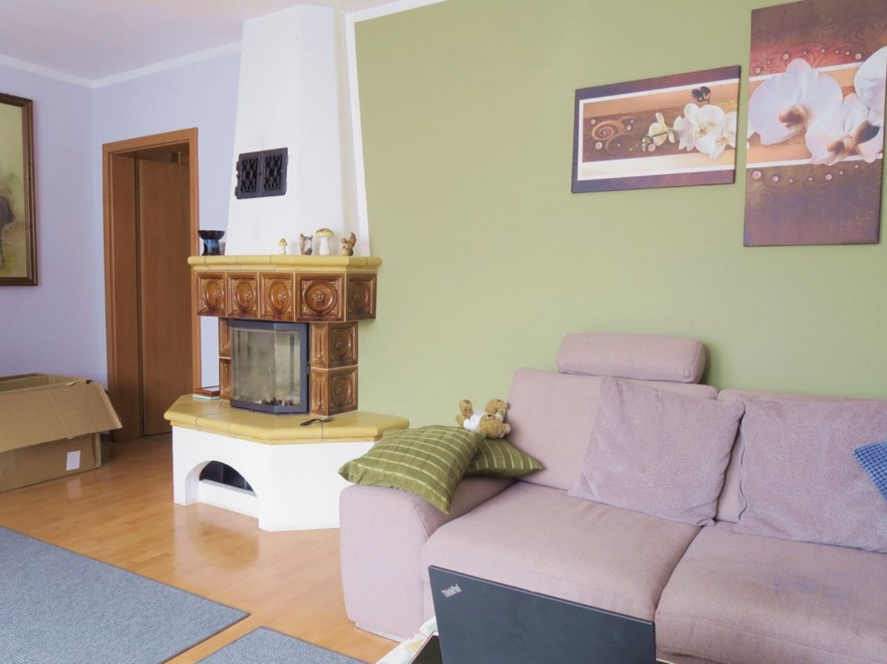 Großzügiges EFH mit Nebengebäude in Gräfenroda-Wohnzimmer im OG